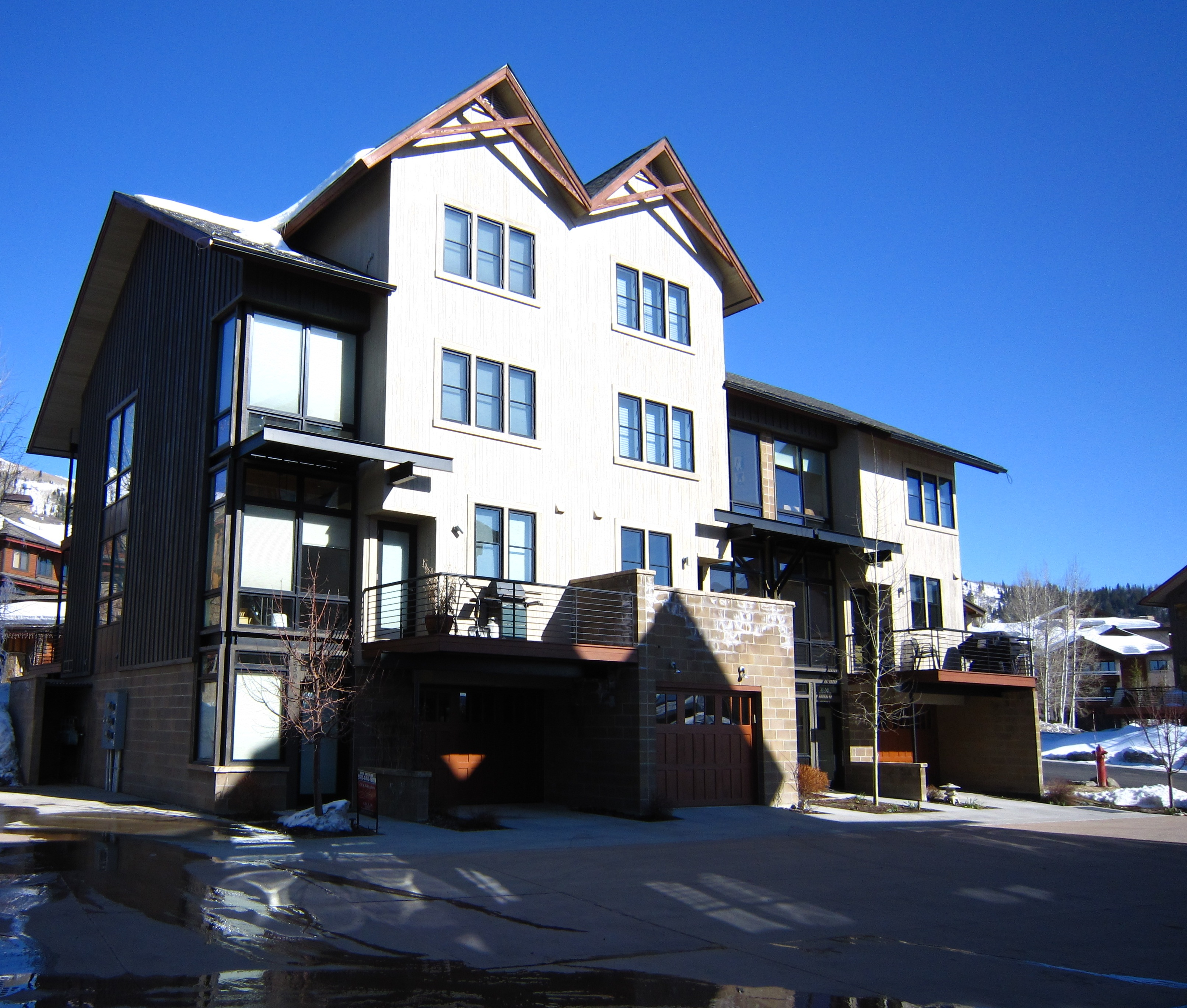 Blackhawk Townhomes Steamboat Condos For Sale