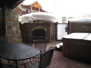 Bear Lodge at Trappeurs Patio Unit