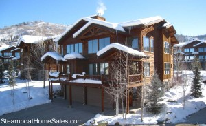 Mountaineer Townhomes in Steamboat
