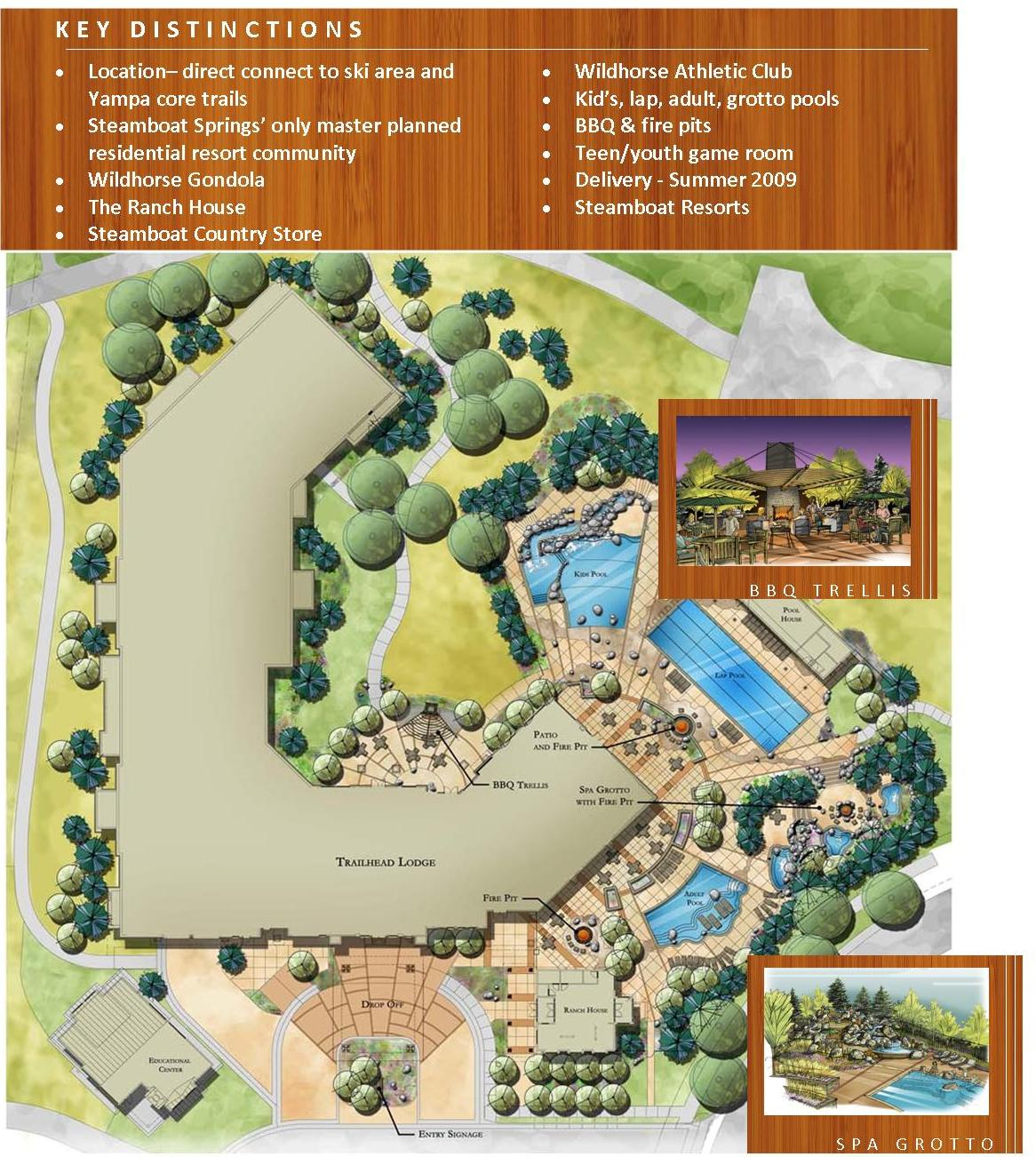 Trailhead Lodge at Wildhorse Meadows - Steamboat Condos for Sale