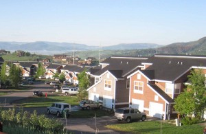 Mountain Vista Townhomes in Steamboat