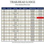 Trailhead Lodge Post-Auction Condo Prices
