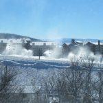 Snowmaking Underway in Steamboat
